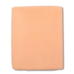 Froté prostěradlo do postýlky - oranžové - 60 x 120 cm - New Baby