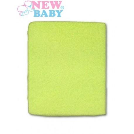 Nepromokavé prostěradlo New Baby 120x60 zelené