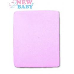Nepromokavé prostěradlo - 120 x 60 - fialové - New Baby