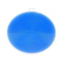 Silikonová houbička na nádobí - modrá