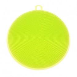 Silikonová houbička na nádobí - neonově žlutá