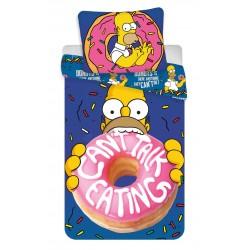 Bavlněné povlečení na jednolůžko - Homer Simpson Donuts