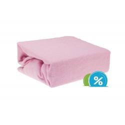 Dětské prostěradlo froté 60x120 cm – růžové