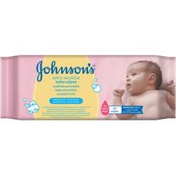 Johnsons Vlhčené ubrousky - Baby Extra Sensitive, 56ks