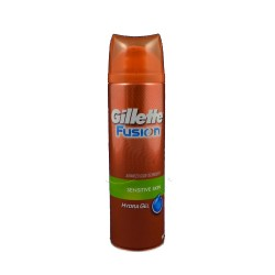 Gillette gel Fusion Sensitive - Gel na holení, 200ml