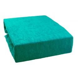 Froté prostěradlo - Smaragdové