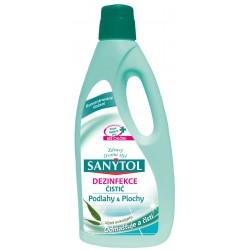 Dezinfekční univerzální čistič na podlahy a plochy s vůní eukalyptu - 1000 ml - Sanytol