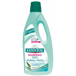 Sanytol - dezinfekční univerzální čistič na podlahy a plochy s vůní eukalyptu, 1000 ml