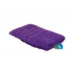 Froté ručník - 100 x 50 cm - fialový