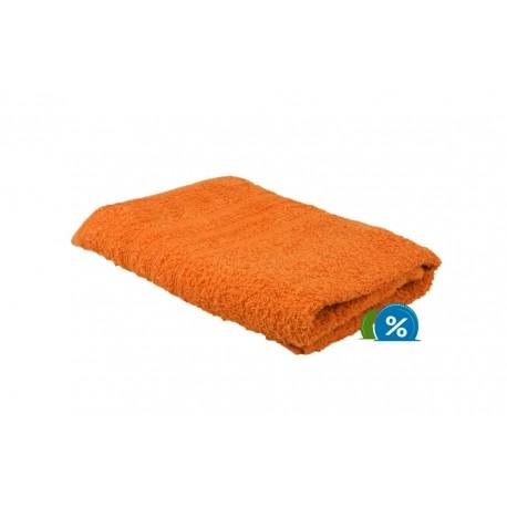 Froté ručník 50x100 cm – oranžový