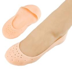 Silikonové, elastické a hydratační ponožky, 1 pár