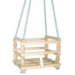 Malá dřevěná houpačka Baby - Rappa