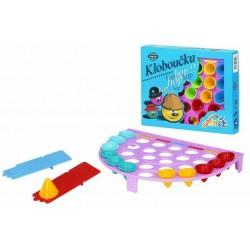 Hra stolní - Kloboučku HOP - půlkruh