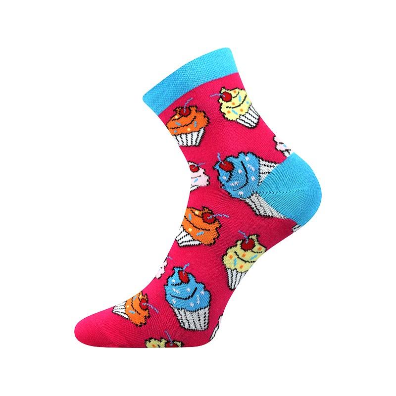 Dámské ponožky - Cupcake - NAAU CZ d03ce33205