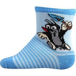 Dětské ponožky - Krteček - modré - Boma