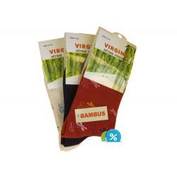 Dětské klasické bambusové ponožky HN-1012 - 4 páry - Virgina