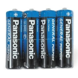 AA baterie General Purpose R6BE - 1,6 V - 4 ks - Panasonic