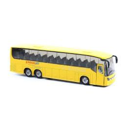 Autobus RegioJet - kov/plast - 18,5 cm