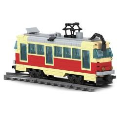 Stavebnice - tramvaj Tatra T3 - 381 dílků - Ausini