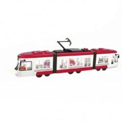 Česky mluvící tramvaj - se zvukem a světlem - červená - Rappa
