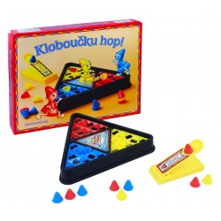 Hra stolní - Kloboučku HOP - trojúhelník - Rappa