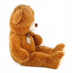 Velký plyšový medvěd Oskar - 90 cm - hnědý