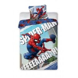 Bavlněné povlečení na jednolůžko - Spiderman