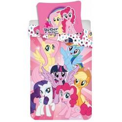 Bavlněné povlečení na jednolůžko - My Little Pony