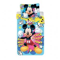 Bavlněné povlečení na jednolůžko - Mickey BAM micro