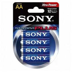 Sony Stamina Plus AM3-B4X2D, 1,5 V - 6x AA alkalická baterie