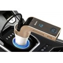 Bluetooth FM Transmitter na USB a micro SD karty