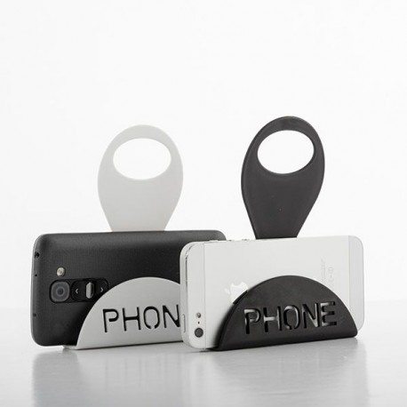 Nabíjecí stojánek pro smartphone - bílý