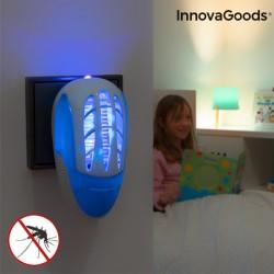 Odpuzovač komárů do zásuvky s LED ultrafialovým světlem InnovaGoods