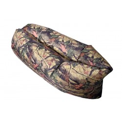 Nafukovací Lazy Bag - motiv listy