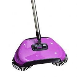 Podlahový mechanický smeták Sweep Drag - fialový