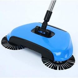 Podlahový mechanický smeták Sweep Drag - modrý