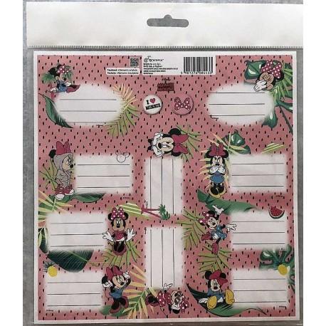 Samolepící papírové jmenovky, 20x20 cm - BENIAMIN