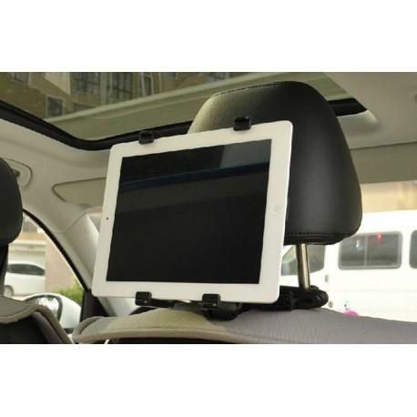 Držák na tablet do auta s instalací na opěrku hlavy