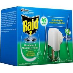 Elektrický odpařovač s eukalyptovým olejem RAID - 27 ml