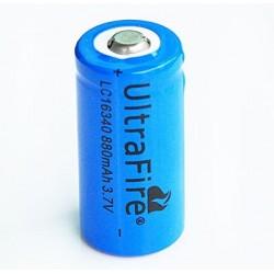 Baterie W 16340 (1200mAh, 3,7V, Li-ion) - 1 kus