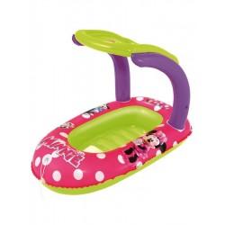 Dětský nafukovací člun Minnie, se stříškou - Bestway