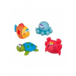 Hračky do koupele, mořský svět - Akuku