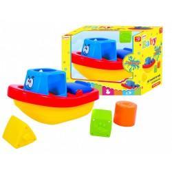 Dětská hračka do vody, loďka - Rappa
