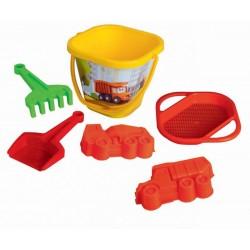 Set hraček na písek - Tatra - 6 ks - Dino Toys