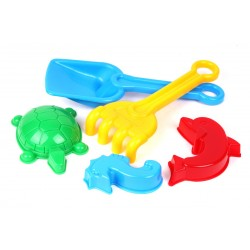 Set hraček na písek s formičkami