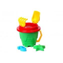 Set hraček na písek s kyblíkem