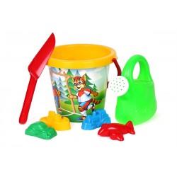 Set hraček na písek s kyblíkem, velký