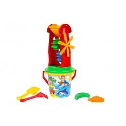 Set hraček na písek s velkým mlýnkem