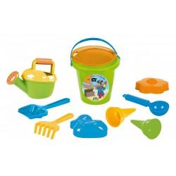 Set hraček na písek pro kluky - 10 ks - Lena