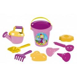 Set hraček na písek pro dívky - 10 ks